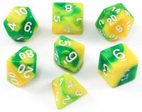 D&D Dice Green Limeade