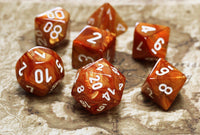 RPG Dice Lustrous Bronze