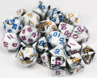 D&D Dice Marble Sets