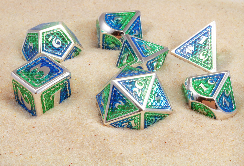 Mermaid Metal Dice