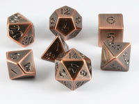 Metal D&D Dice Antique Copper