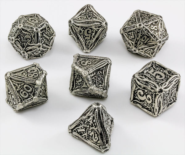 Metal Call of Cthulhu Dice