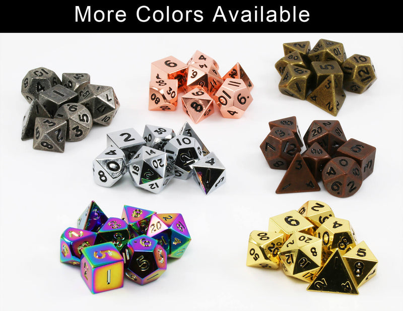 Metal Mini D&D Dice Collection