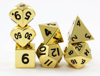 DnD Dice Metal Mini Gold
