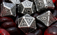 Metal RPG Dice Mythical Metal