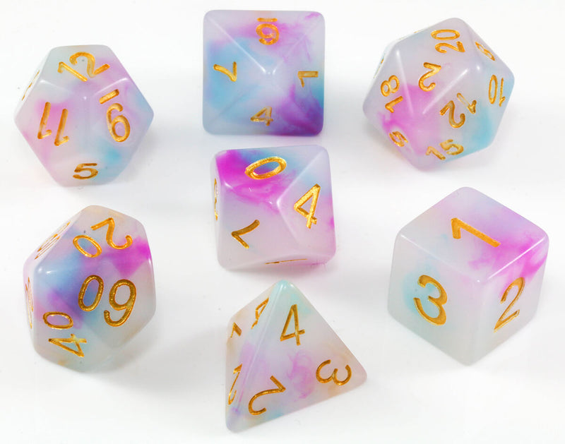 Nemesis Dice Teal and Purple