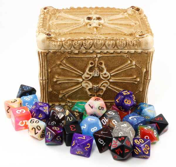 D&D Bones Dice box