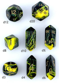 Hybrid Dice Oblivion Yellow