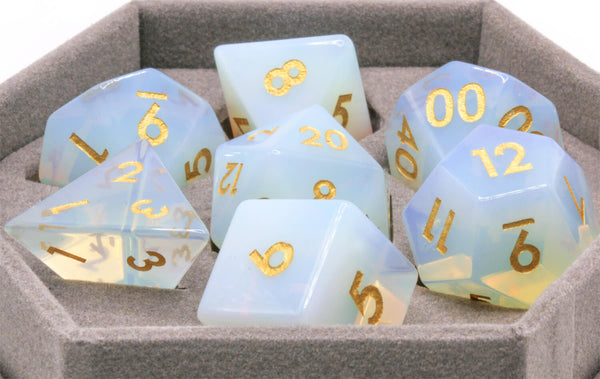 Gem Dice Synthetic Opal