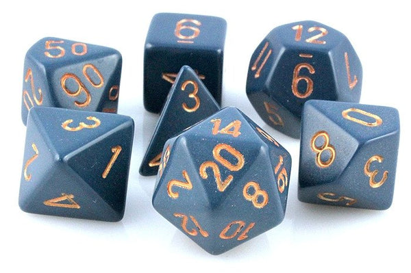 Opaque Dice Dusty Blue