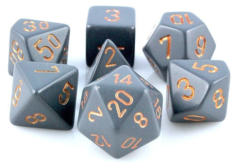 Opaque Dice Dusty Gray