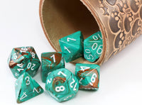 Marble Oxi-Copper Dice Chessex