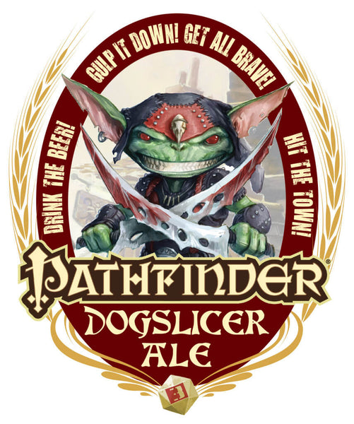 Pathfinder Dog Slicer Ale T-Shirt