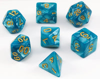 Teal DnD Dice