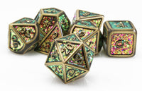 Prismatic Chroma Bronze Dice
