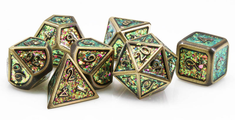 Bronze D&D Dice