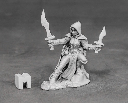 D&D Miniatures Female Rogue