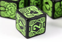 Shadowrun d6 Decker dice