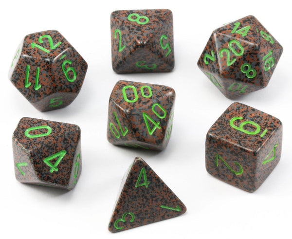 D&D Dice Speckled Earth
