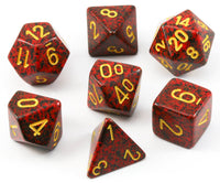 D&D Dice Speckled Mercury