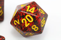 RPG Dice Speckled Mercury