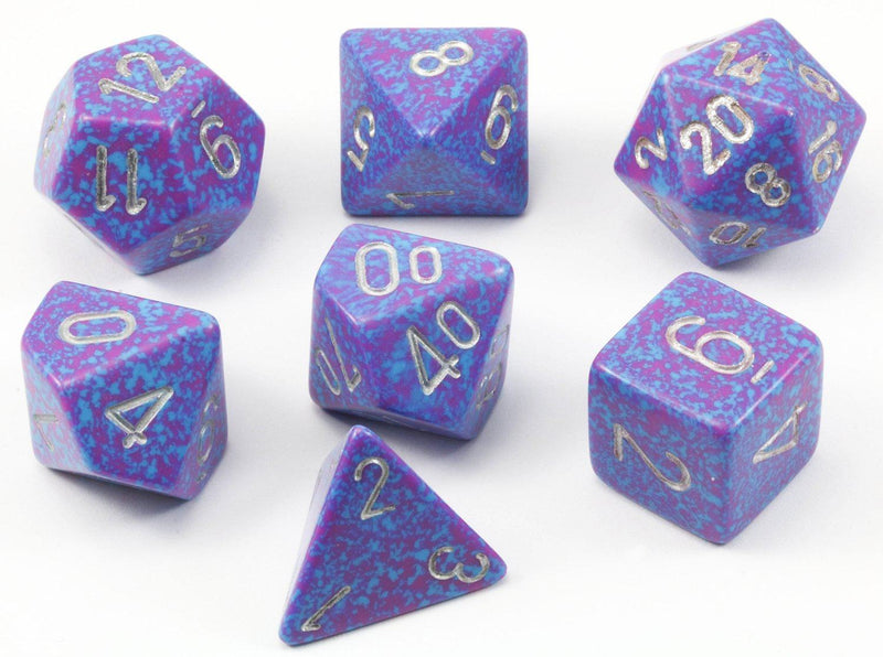 D&D Dice Speckled Silver Tetra