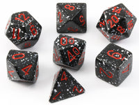 D&D Dice Speckled Space
