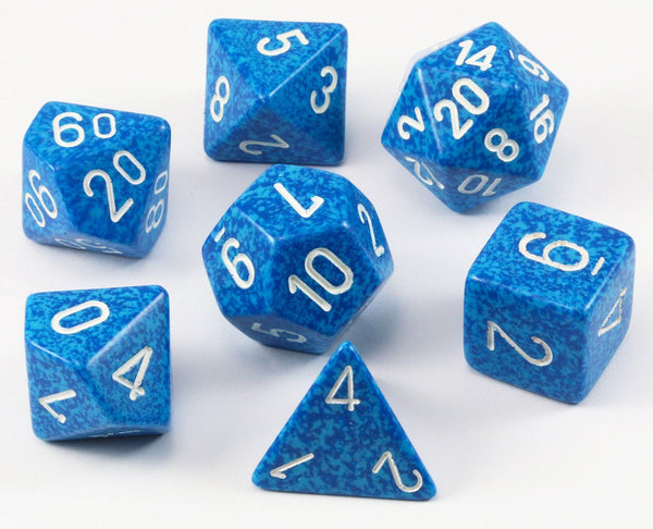 D&D Dice Speckled Water