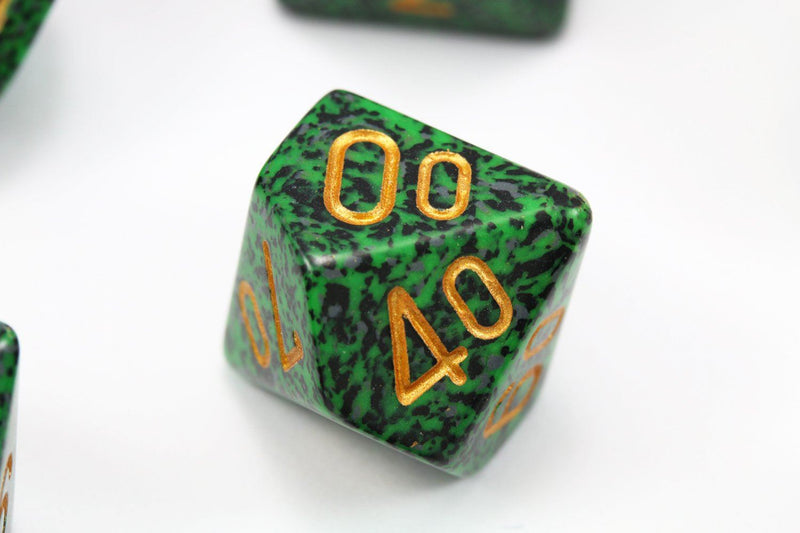RPG Dice Gold Recon Speckled