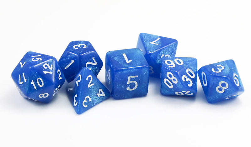 RPG Spectral Dice Blue