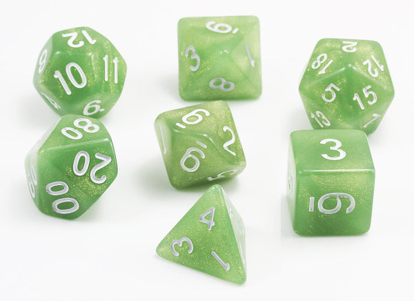 D&D Spectral Dice Pale Green