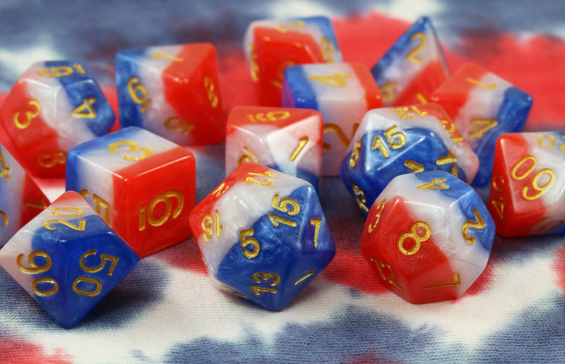 Star Spangled Banner Dice