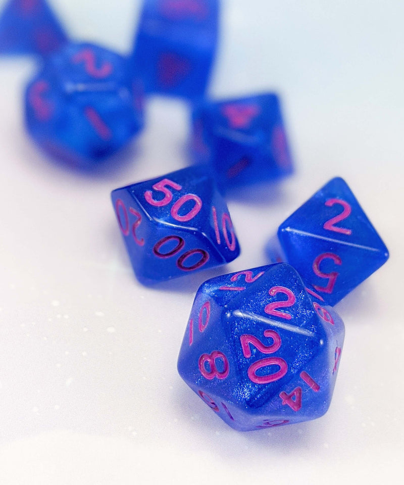 Stardust dice for d&d
