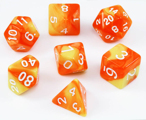 RPG Dice Sunfire