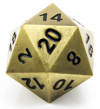 Boulder d20 Bronze Dragon Scale