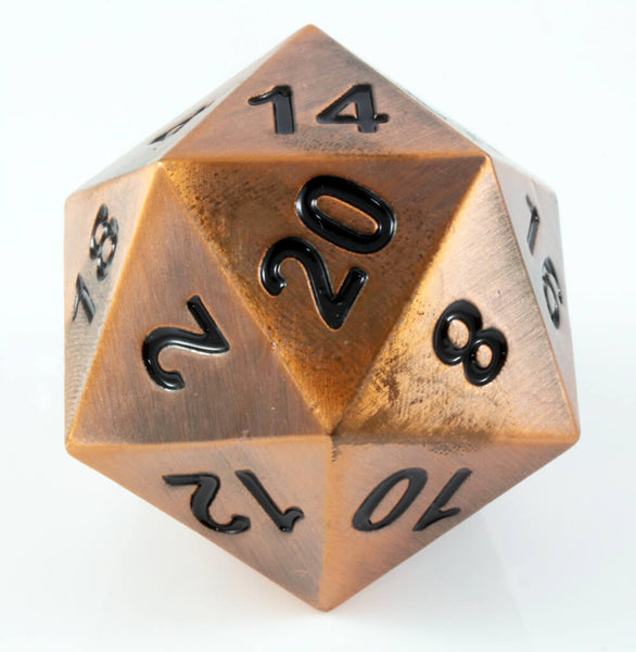 Boulder d20 Gnomish Copper