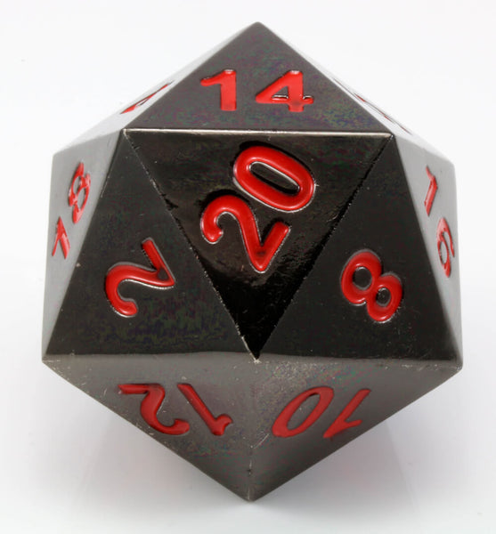 Boulder d20 Nightmare Black