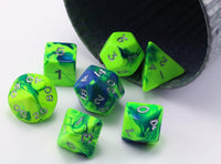 Toxic Green Dice D&D