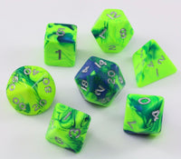 D&D Toxic Dice Green Blue