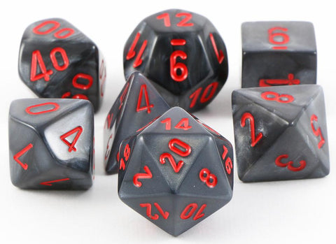 Velvet RPG Dice Black