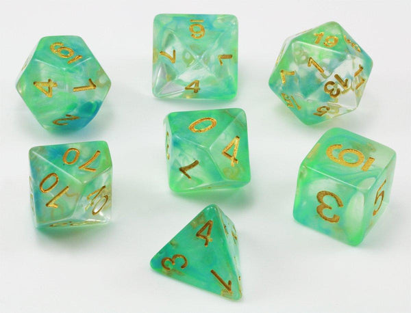 Venom Dice Green and Blue