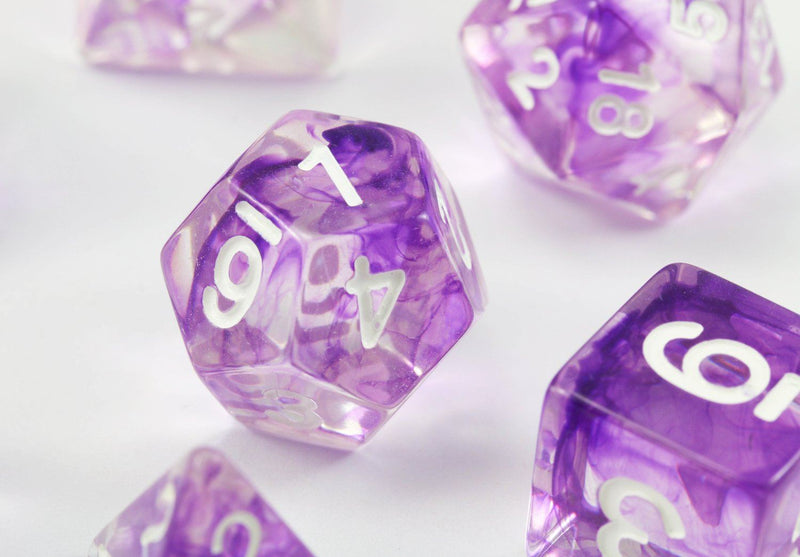Venom RPG Dice Purple
