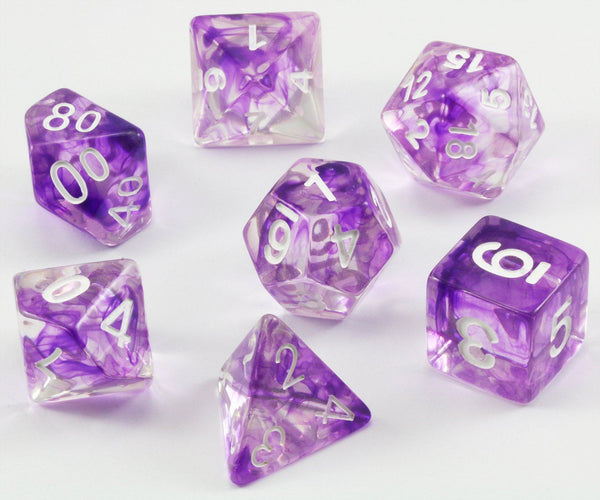 D&D Dice Purple Venom