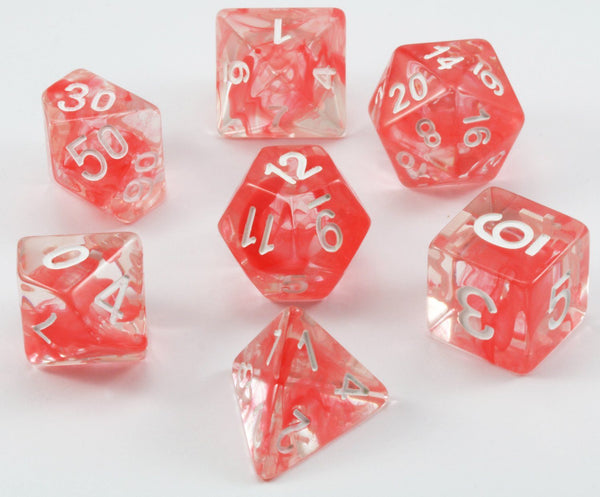 D&D Dice Red Venom