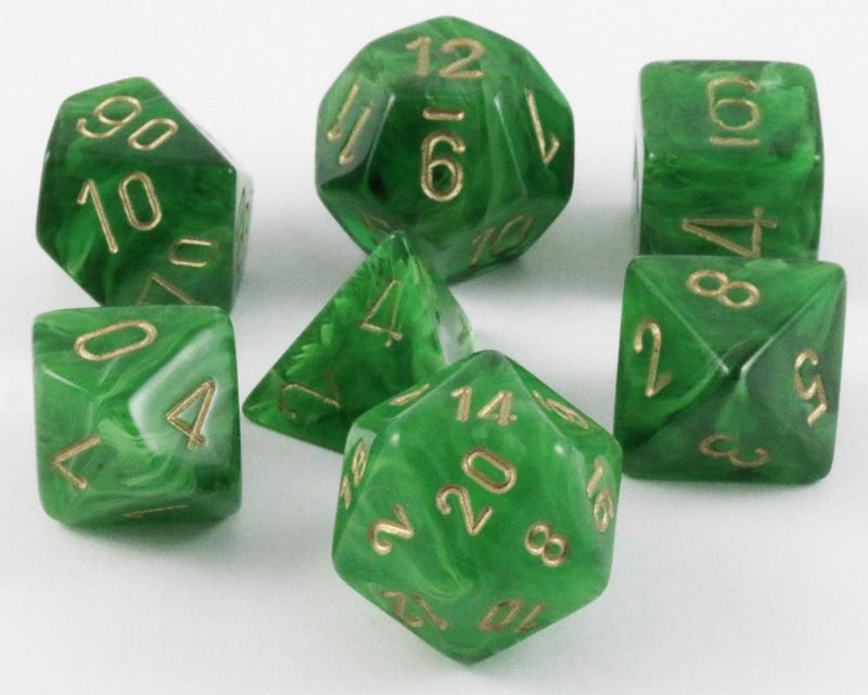Vortex Dice Green