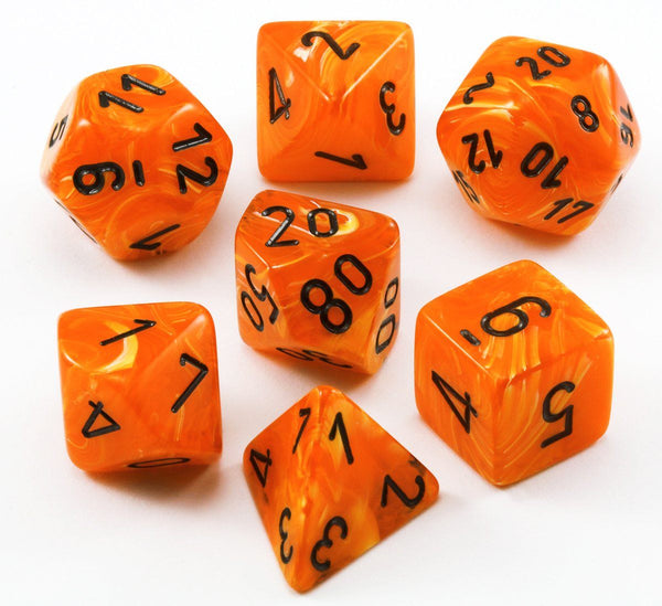 Vortex Dice Orange D&D Set