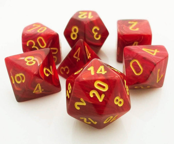 Vortex Dice Red