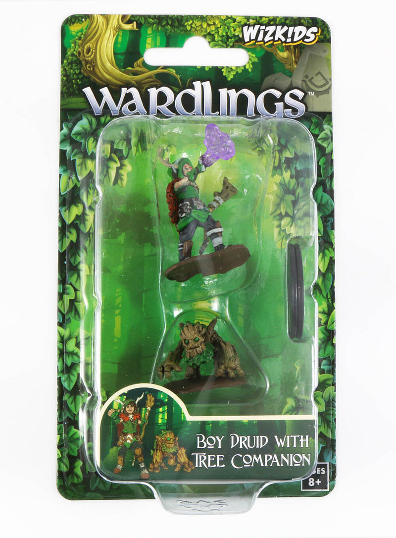 Wardlings Boy Druid and Tree Ent
