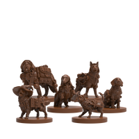 Dungeons and Doggies Volume 1 Miniatures