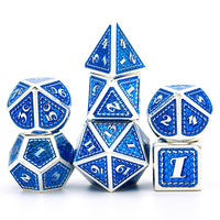 Blue Mermaid Dice